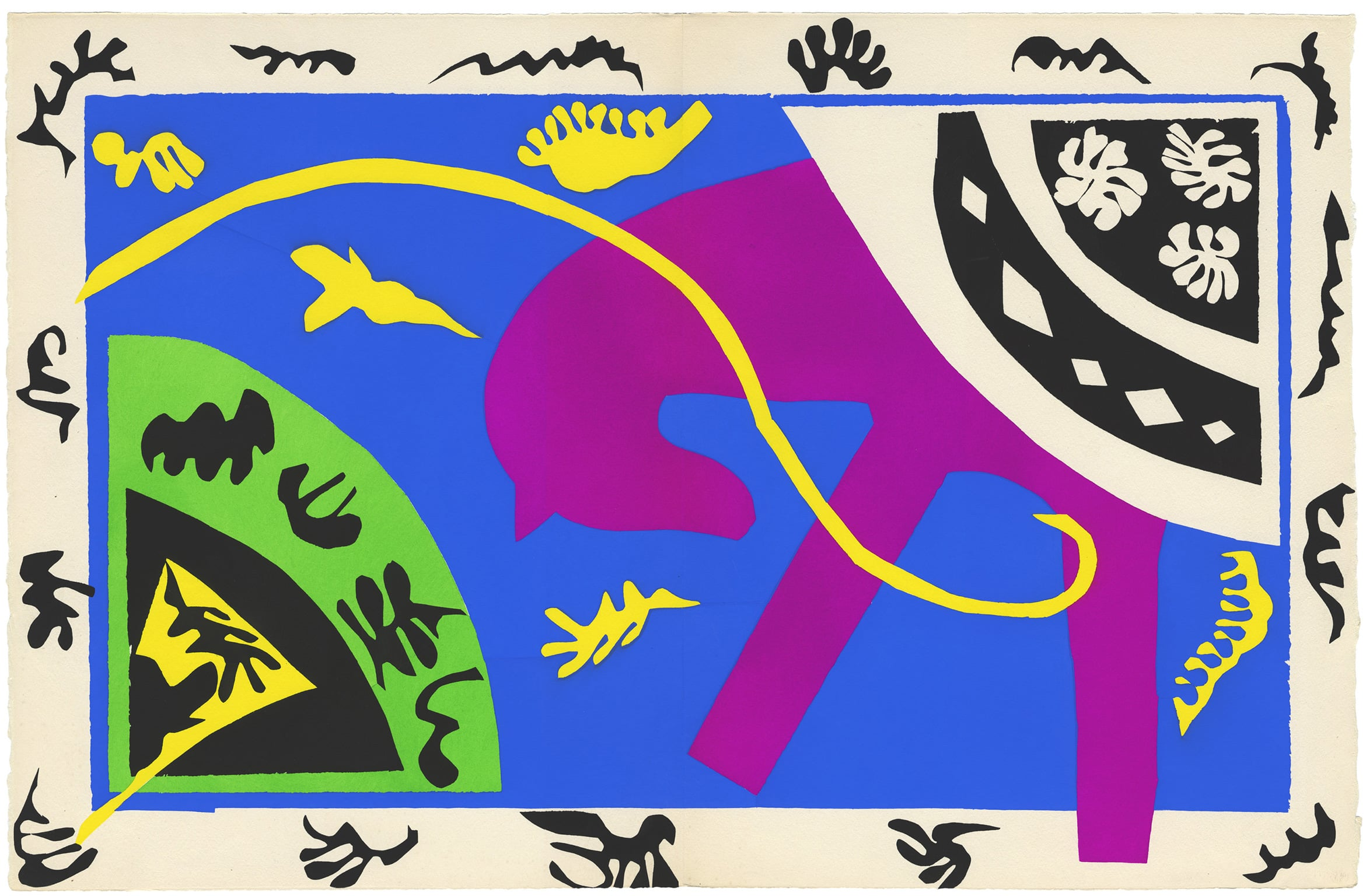 The Horse, the Rider, and the Clown by Henri Matisse
