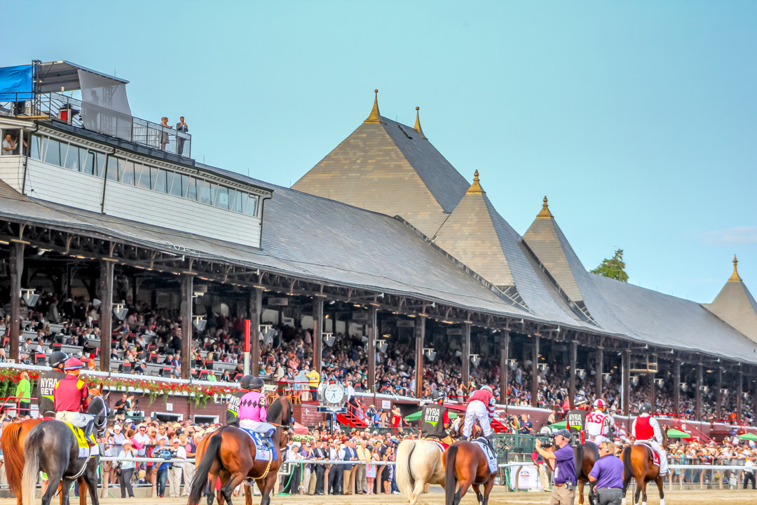 horse racing Saratoga Stakes Races: Travers Day