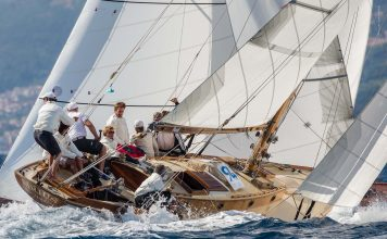 Cannes, France, 25/09/2013 Panerai Classic Yacht Challenge 2013 Regates Royales 2013 Sirius Ph: Panerai / Guido Cantini / seasee.com