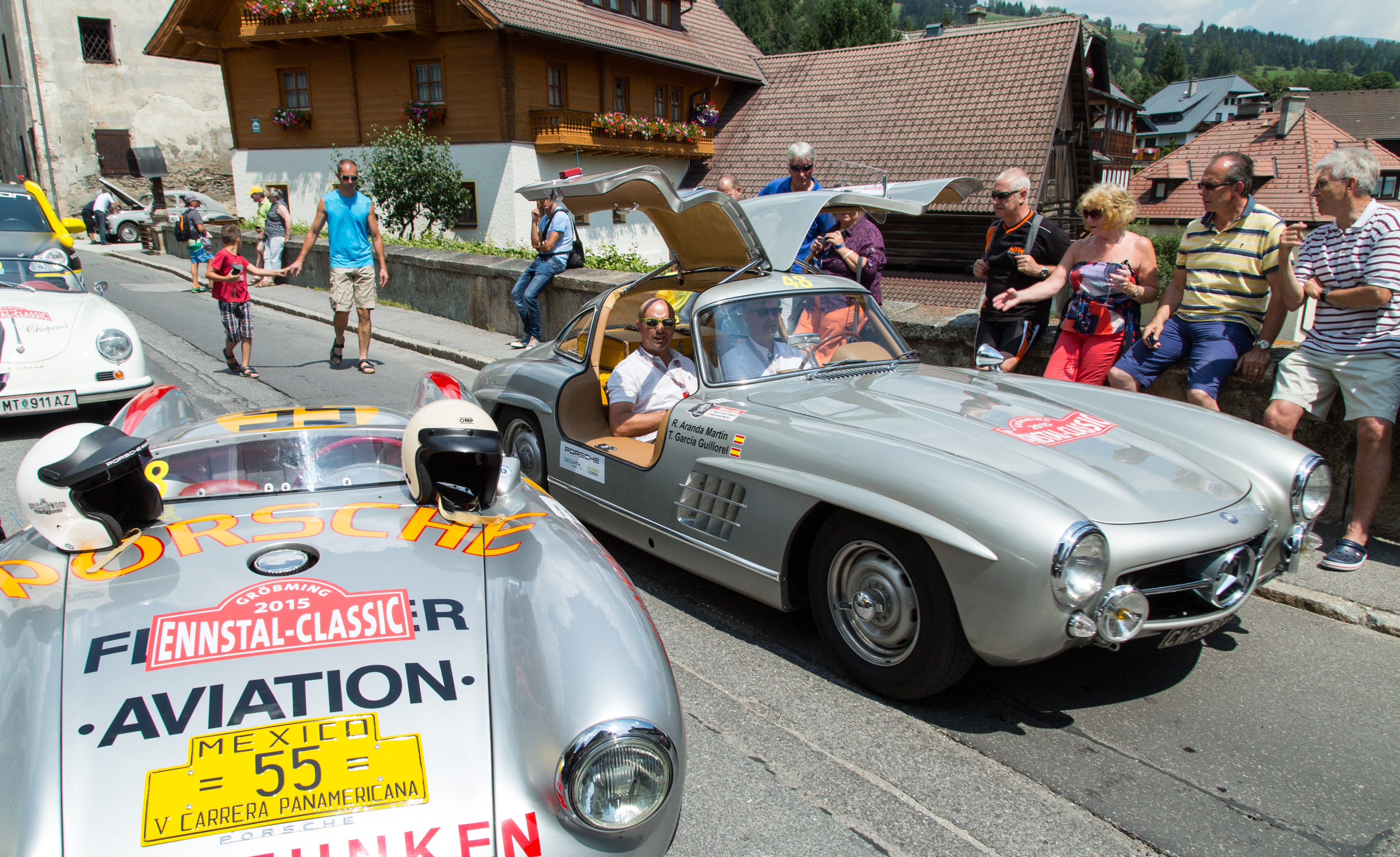 16.07.2015, Groebming, Steiermark, Oesterreich (Austria): 23. Ennstal-Classic, Geolyth-Prolog, Mauterndorf im Lungau. (c) Ennstal-Classic / Werner Luidolt
