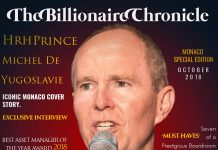 The billioniare Chronicle Monaco Edition 2018