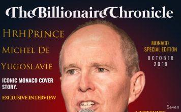 The billioniare Chronicle Monaco Edition 2018