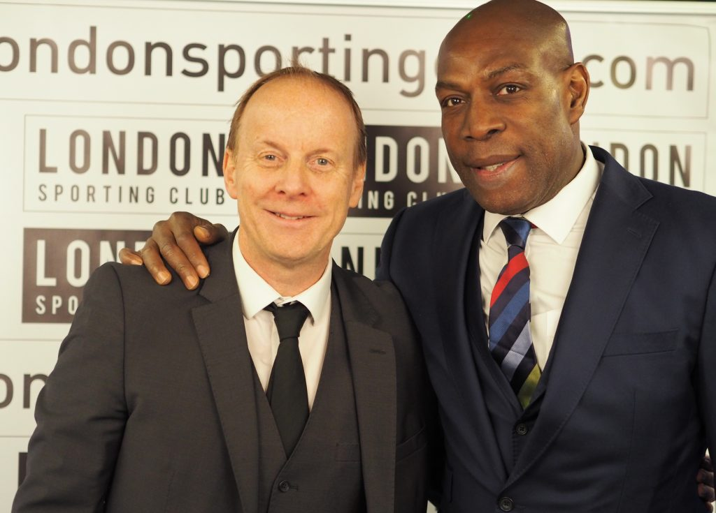 Ian and Frank Bruno