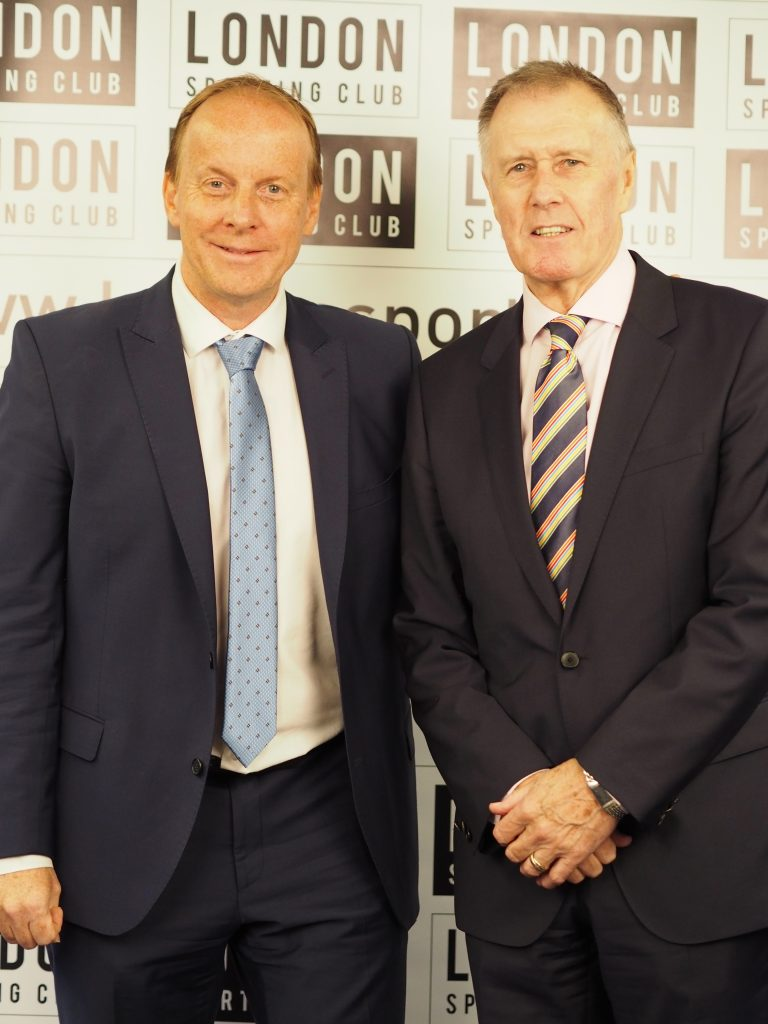 Ian and Sir Geoff Hurst