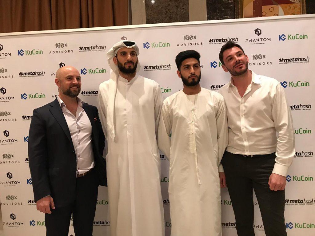 Kinesis in Dubai at Ian Balina crypto world tour