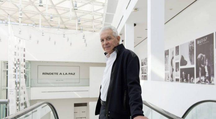 Eduardo Costantini, in the Malba. JUANJO BRUZZA